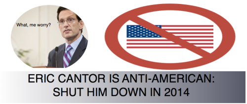 Cantor the Anti-American