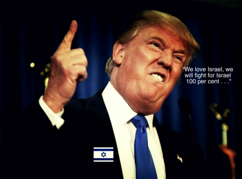 Trump loves Israel 2